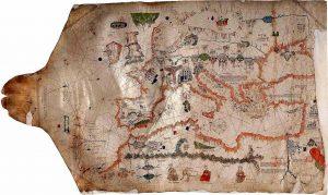 RRR_Albino de Canepa, Carta da navigare, 1480