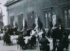Ricevimento per la consegna della medaglia d'oro al Colonnello De Pinedo, in Villa Celimontana (9 luglio 1927)