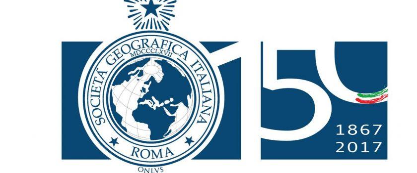 Logo 150° della Società Geografica Italiana