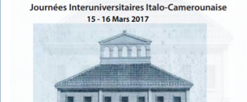 JITACAM-Journées Interuniversitaires Italo-Camerounaise