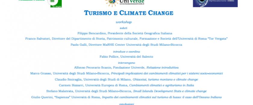 Festival della Sostenibilità – Turismo e climate change