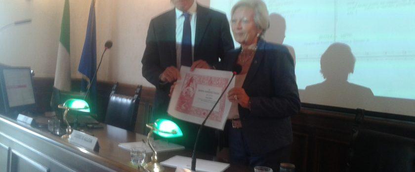 Il Prof. Giorgio Alleva (Presidente ISTAT) socio d'onore SGI
