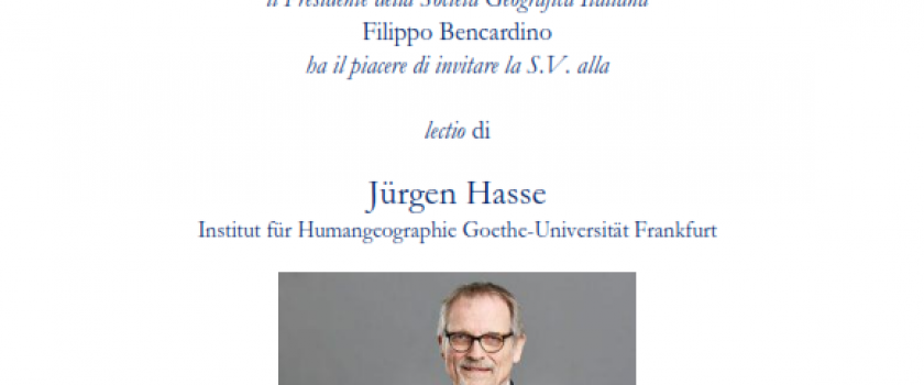 UPDATE – link diretta streaming The Atmospheres of Cities. A neglected relationship: Geography and Philosophy