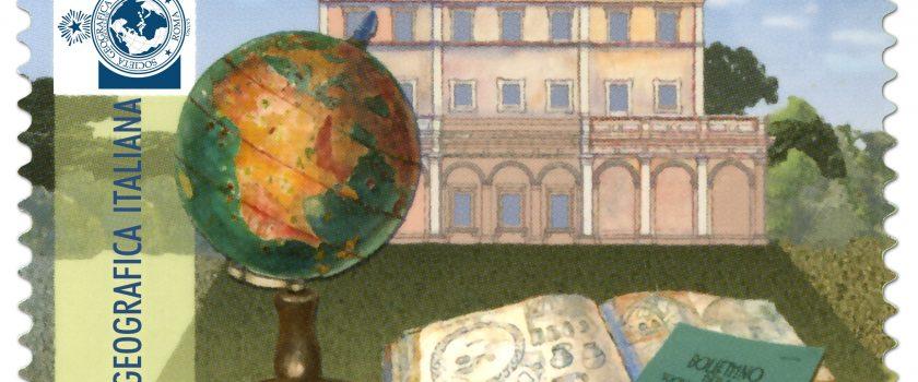 (Italiano) Francobollo celebrativo dei 150 anni della SGI