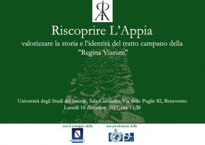 Riscoprire L'Appia_invito