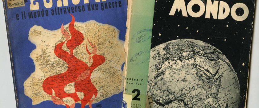 Mostra: GEOGRAFIA DI UNA STORIA I PAESI DEL MONDO ATTRAVERSANO DUE GUERRE (1914-1945)
