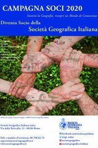 (Italiano) Campagna Soci della Società Geografica Italiana