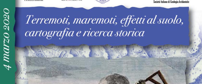 (Italiano) Mercoledì 4 marzo 2020 ore 9.30 – LA QUARTA GIORNATA DI GEOLOGIA E STORIA –