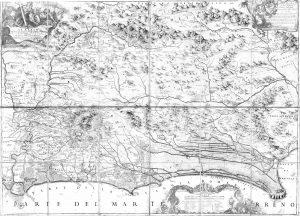 Il Lazio con le sue più cospicue strade antiche e moderne di esso descritto da Giacomo Filippo Ameti, 1693