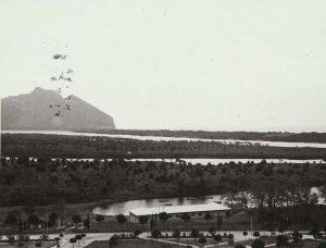 Il Lago di Sabaudia e il M. Circeo, 1940