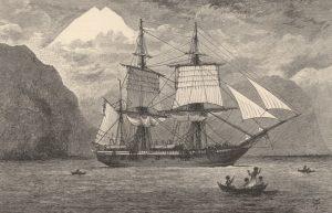 Beagle nello Stretto di Magellano