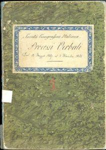 Processi verbali dal 12 maggio 1867 al 2 dicembre 1868