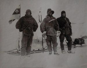 Reginald W. Skelton, Il cap. Scott, il dott. Wilson e il ten. Shackleton prima di muovere verso la lat. 82° 17', 1901-1903