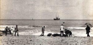 Sbarco sulla spiaggia di Auilèt-Zauia. 1.7.1910