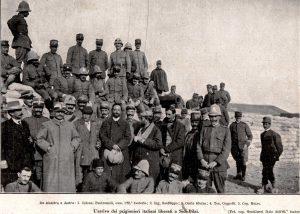 Liberazione della Missione. L'Illustrazione Italiana 1/12/1912 n.48