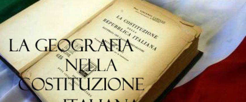 (Italiano) 2 Giugno 2020 – La Geografia nella Costituzione Italiana