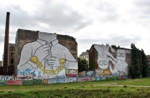 Brothers e Chains, Blu, Cuvrystraße, Kreuzberg (fonte La Repubblica online)