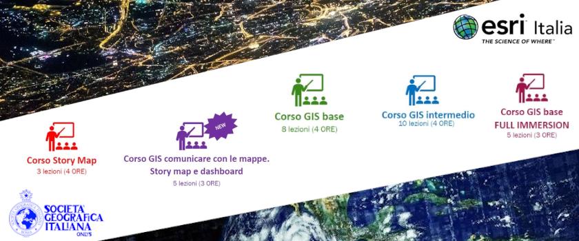 (Italiano) Corsi online per immergersi nel mondo GIS