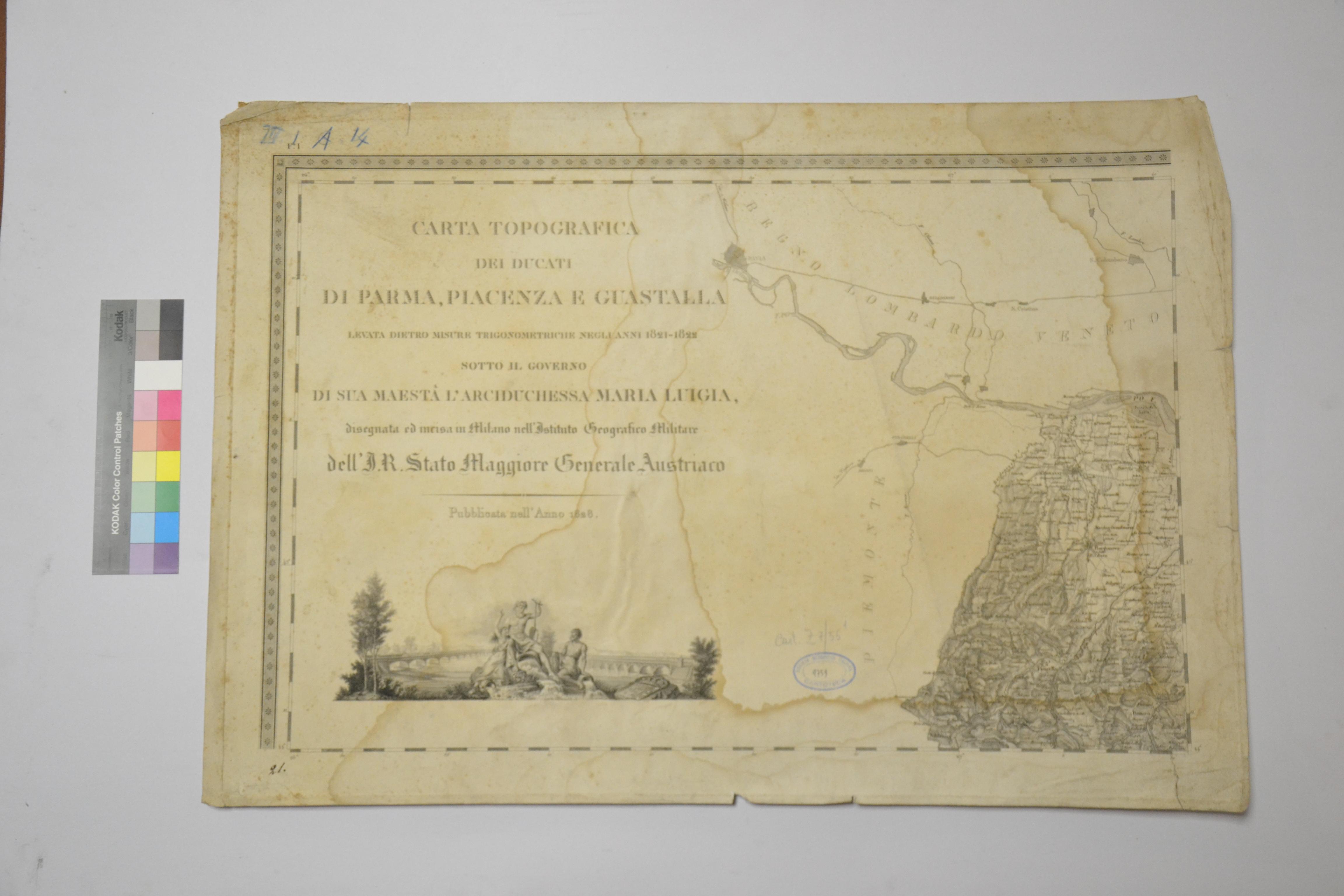 Carta prima del restauro (recto)