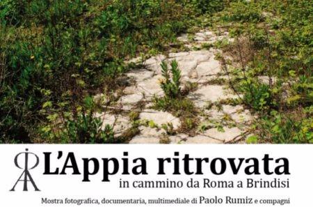 """Inaugurazione della mostra """"L'Appia ritrovata in cammino da Roma a Brindisi"""" a Taranto"""
