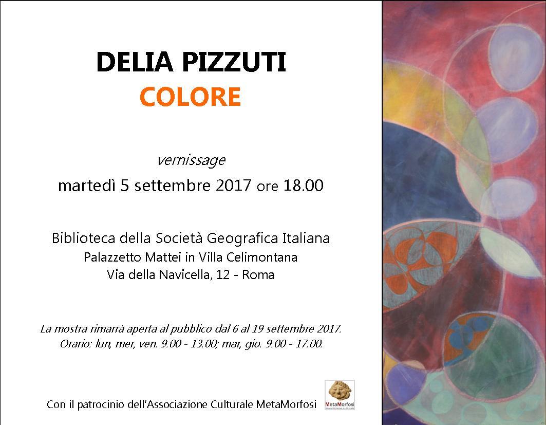 Delia Pizzuti – Colore