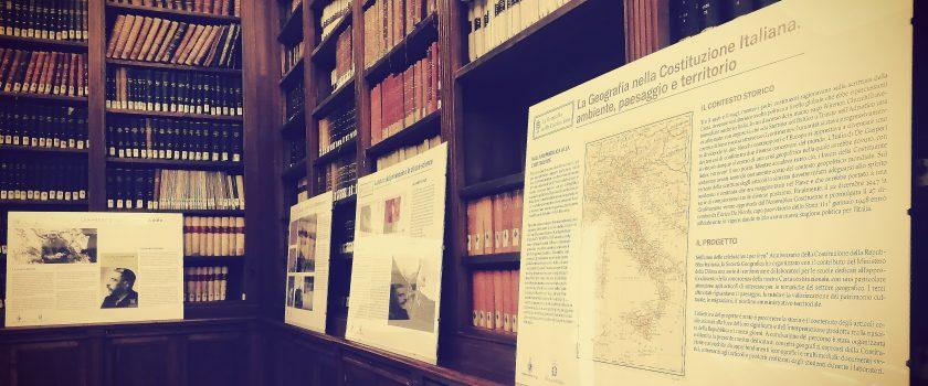 La Geografia nella Costituzione Italiana: ambiente, paesaggio e territorio