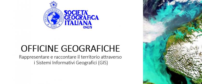 Officine geografiche. Rappresentare e raccontare il territorio