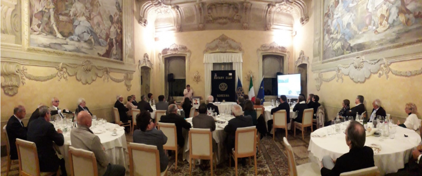 Il Rotary di Soresina adotta un documento