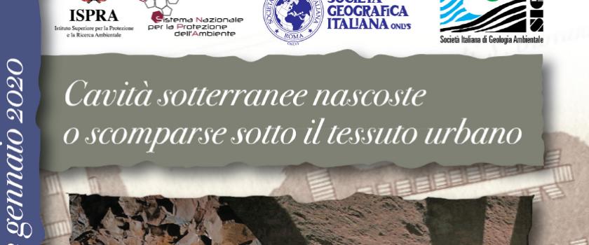 GIORNATE DI GEOLOGIA E STORIA – 22 gennaio 2020 – Programma definitivo