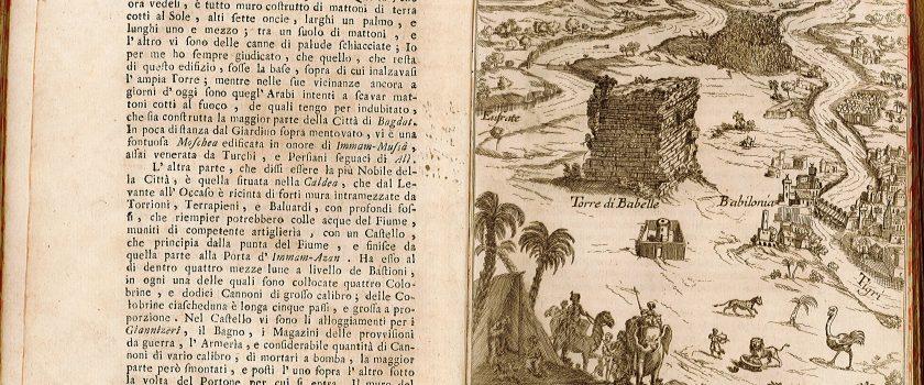 """(Italiano) """"Surveys of Ancient Babylon"""". I resti dell'antica Babilonia in una carta della Società Geografica Italiana"""