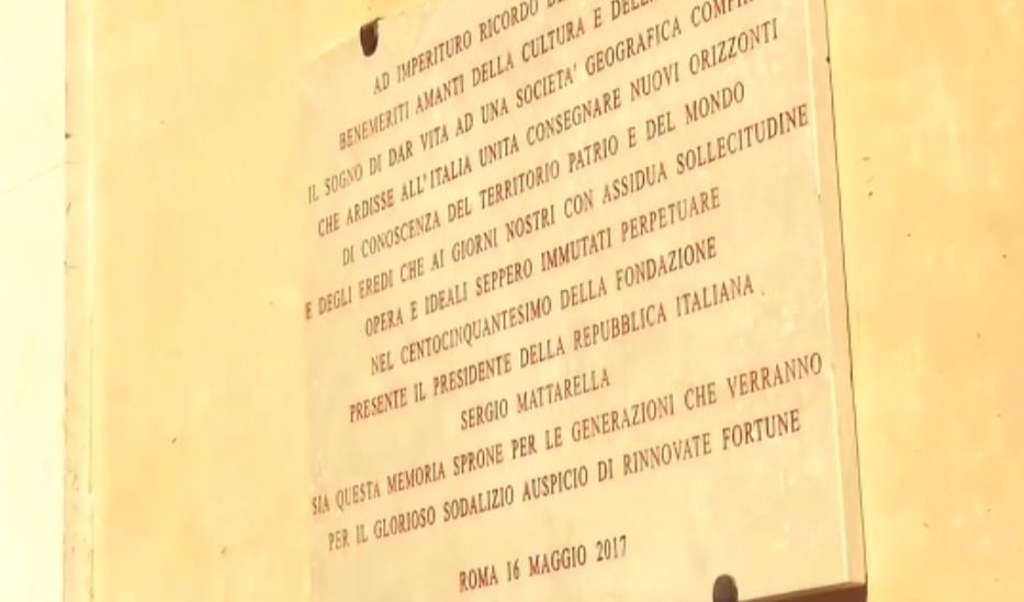 La visita del Presidente Mattarella per il 150° anniversario della SGI