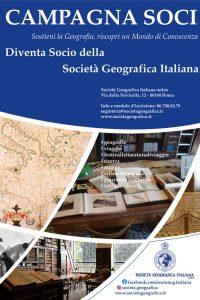 Campagna Soci della Società Geografica Italiana