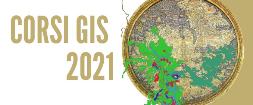 Corsi GIS 2021 – Prossimi Corsi ad Aprile