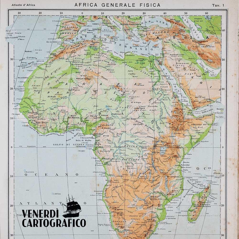 Venerdì Cartografico –  Una vita da cartografo: Achille Dardano