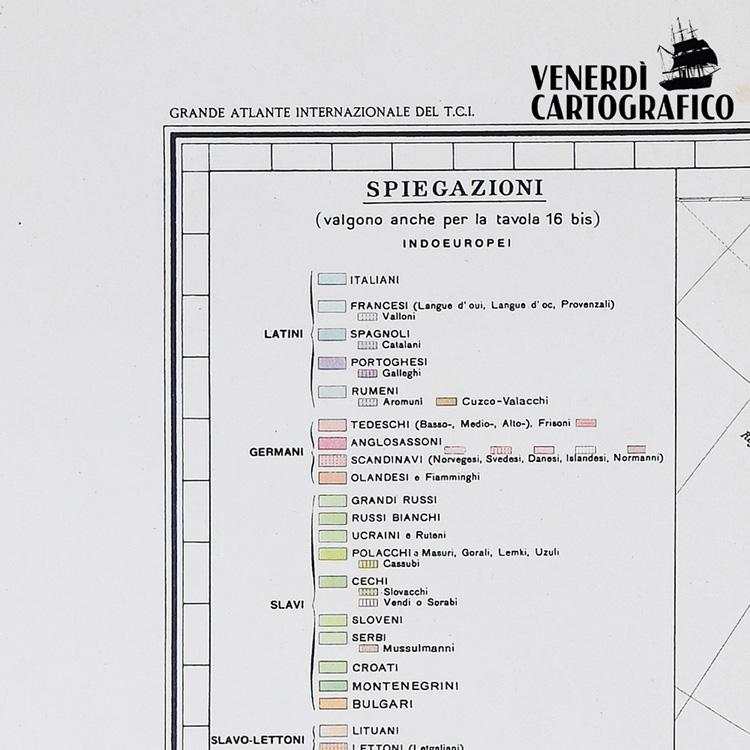 Venerdì Cartografico –  Le Carte Etnografiche