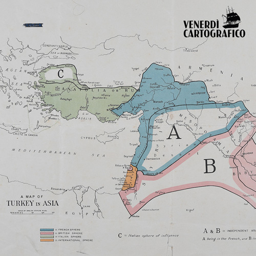 Venerdì Cartografico –  Il Regno d'Italia in Anatolia