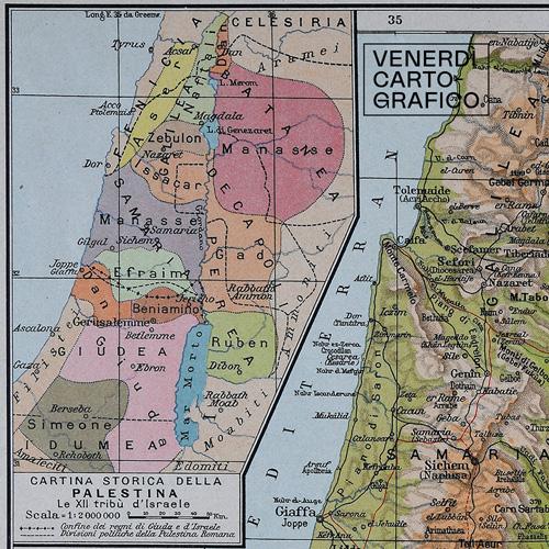 Venerdì Cartografico – Terra Santa, per tutti