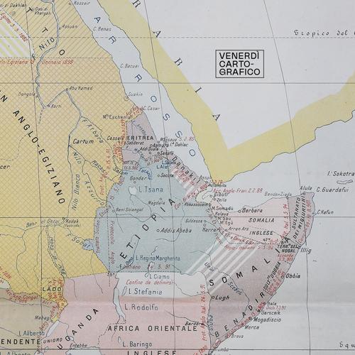 Venerdì Cartografico – LA CORSA ALL'AFRICA