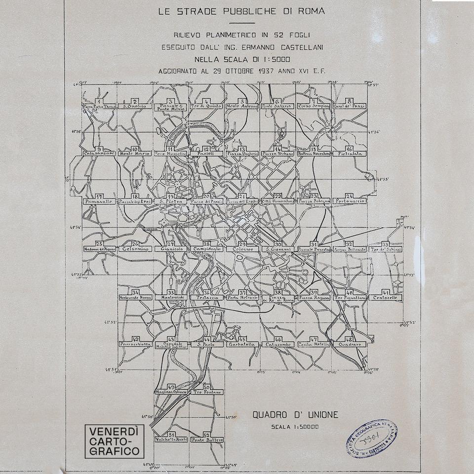 Venerdì Cartografico – Le strade di Roma