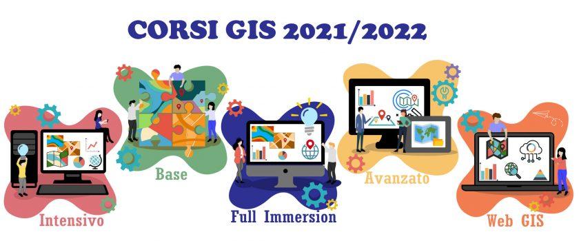 Corsi GIS Settembre 2021/ Gennaio 2022
