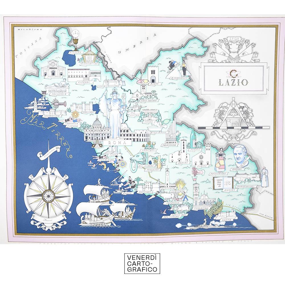 Venerdì Cartografico – Atlante d'Italia, Giovanni de Agostini, 1941