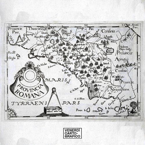 Venerdì Cartografico – Carta corografica del Lazio